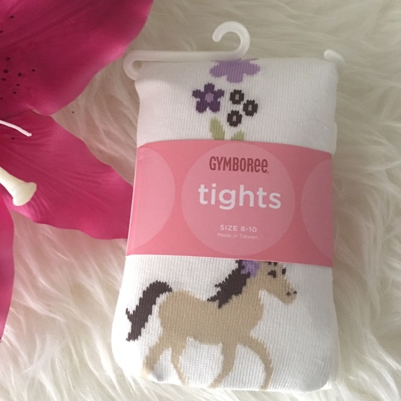 NWT Gymboree Girls Tights Size 4 yrs to 10 yrs